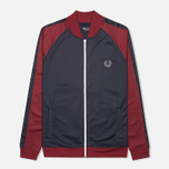 Мужская олимпийка Fred Perry Bomber Track Dark Carbon фото- 0