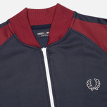 Fred Perry Bomber Men's Track Jacket Dark Carbon photo- 1