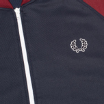 Мужская олимпийка Fred Perry Bomber Track Dark Carbon фото- 2