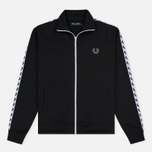 Мужская олимпийка Fred Perry Laurel Wreath Tape Track Black фото- 0