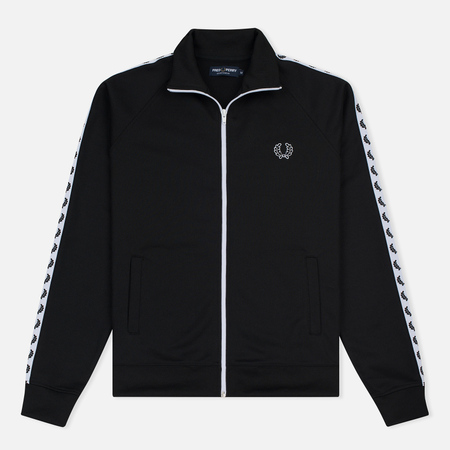 Мужская олимпийка Fred Perry Laurel Wreath Tape Track Black