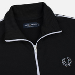 Мужская олимпийка Fred Perry Laurel Wreath Tape Track Black фото- 1