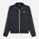 Fred Perry Laurel Wreath Tape Men's Track Jacket Black photo- 0