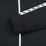 Мужская олимпийка Fred Perry Laurel Wreath Tape Track Black фото- 3