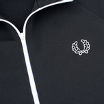 Fred Perry Laurel Wreath Tape Men's Track Jacket Black photo- 2