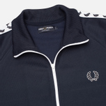 Мужская олимпийка Fred Perry Laurel Wreath Tape Track Dark Carbon фото- 1