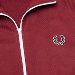 Мужская олимпийка Fred Perry Laurel Wreath Tape Track Maroon фото- 2