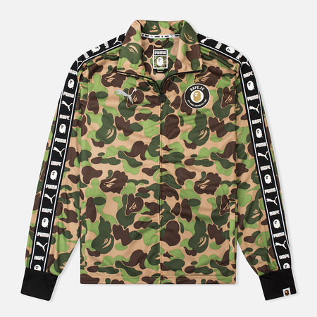 Олимпийка Puma x Bape Training Jersey Camo Green