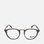 Persol Typewriter Edition Suprema Striped Spectacle Frames Brown photo- 0