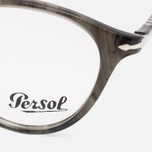Persol Typewriter Edition Suprema Striped Spectacle Frames Brown photo- 2