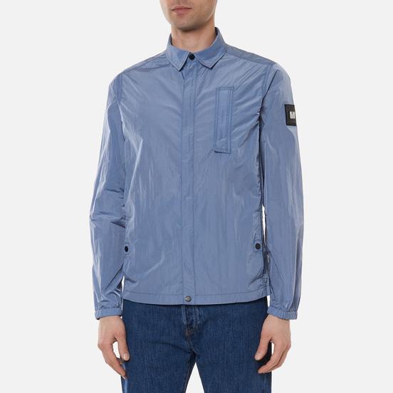 Мужская рубашка Weekend Offender Sovino Overshirt Steel Blue