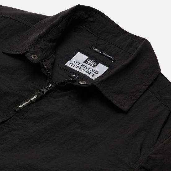 Мужская рубашка Weekend Offender Vinnie Overshirt Black