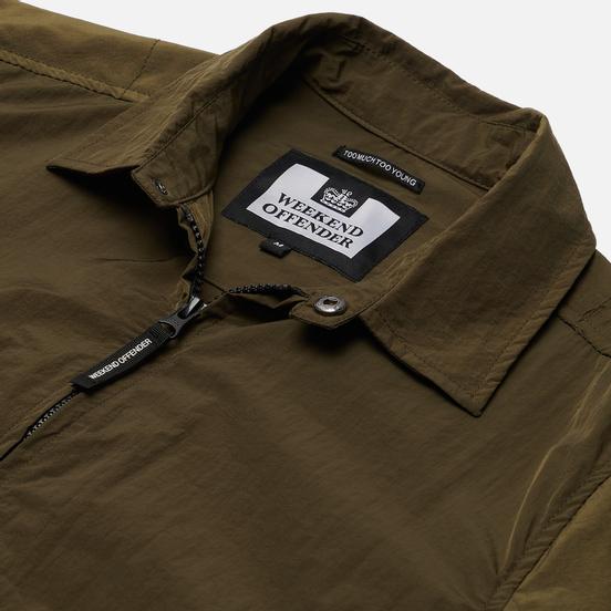 Мужская рубашка Weekend Offender Vinnie Overshirt Dark Army
