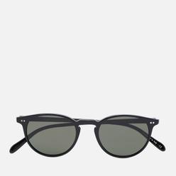 Солнцезащитные очки Oliver Peoples Riley Sun Polarized Black/G-15 Polar