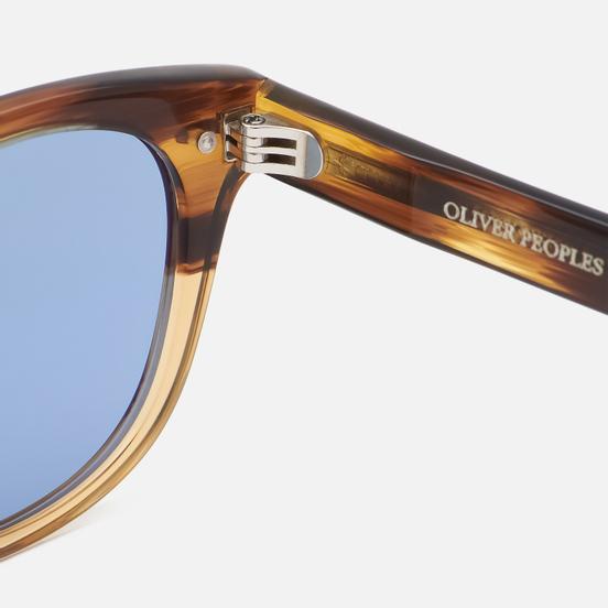 Солнцезащитные очки Oliver Peoples Sheldrake Sun Canarywood Gradient/Cobalt