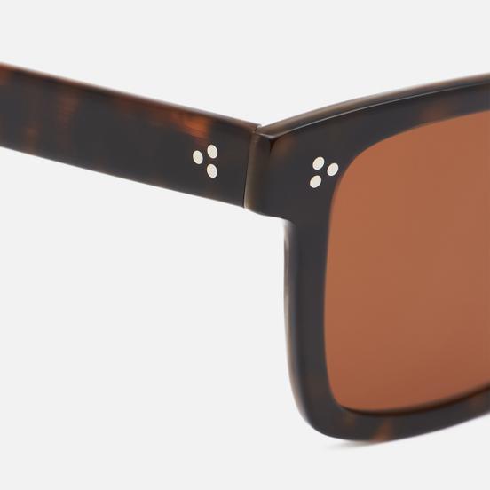 Солнцезащитные очки Oliver Peoples Casian Horn/Brown
