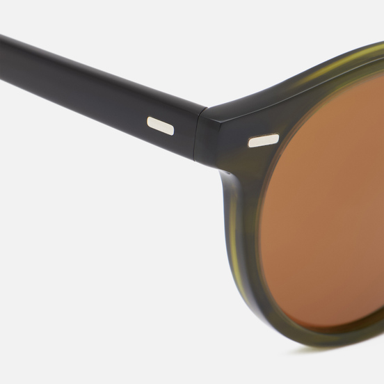 Солнцезащитные очки Oliver Peoples Gregory Peck 1962 Emerald Bark/True Brown