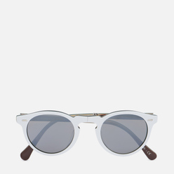 Солнцезащитные очки Oliver Peoples Gregory Peck 1962 White/Green/Black/Ivory/Brown/Dark Grey Silver Mirror