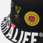 Панама Alife Wise Sayings Black фото- 1
