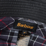 Barbour Wax Sports Panama Black photo- 3