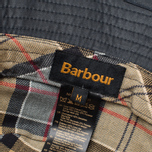 Barbour Wax Sports Panama Navy photo- 3