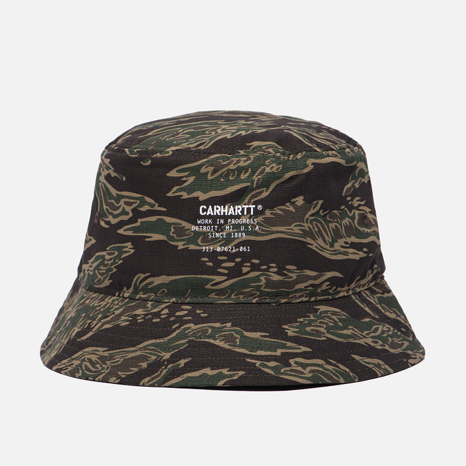 Панама Carhartt WIP Camp Bucket Camo Tiger Laurel/White