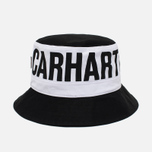 Панама Carhartt WIP Shore Twill Black/Black фото- 1
