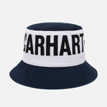 Панама Carhartt WIP Shore Twill Blue/Black фото- 0