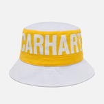 Панама Carhartt WIP Shore Twill White/Carambola фото- 0
