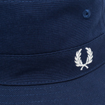 Fred Perry Reversible Fisherman Panama Navy/Sky photo- 3