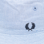 Fred Perry Reversible Fisherman Panama Navy/Sky photo- 2