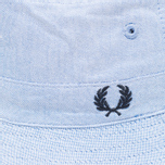 Панама Fred Perry Reversible Fisherman Navy/Sky фото- 2