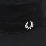 Панама Fred Perry Reversible Fisherman Black фото- 2