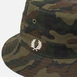 Панама Fred Perry Reversible Ripstop Hunting Green фото- 1