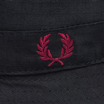 Панама Fred Perry Ripstop Reversible Fishermans Black/Maroon фото- 2