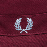 Панама Fred Perry Ripstop Reversible Fishermans Black/Maroon фото- 5