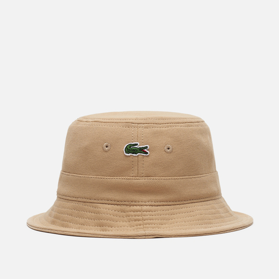 Панама Lacoste Cotton Bucket Beige