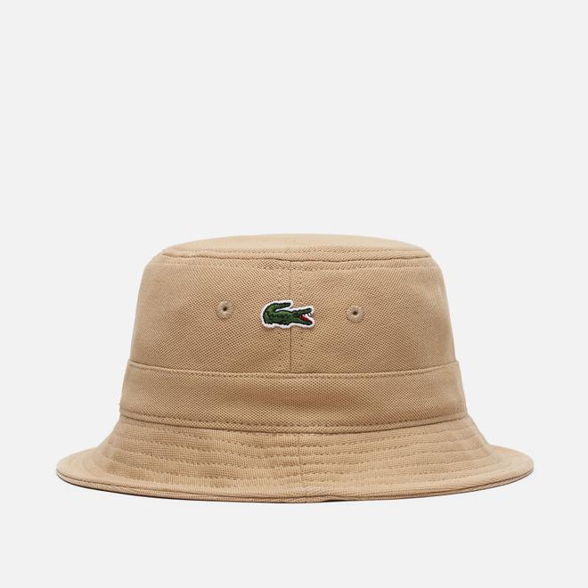 Панама Lacoste Cotton Bucket Beige