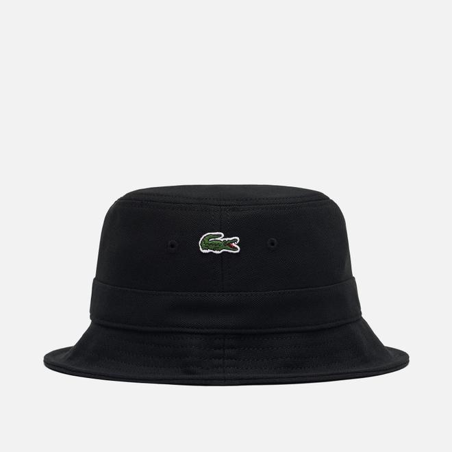 Панама Lacoste Cotton Bucket Black