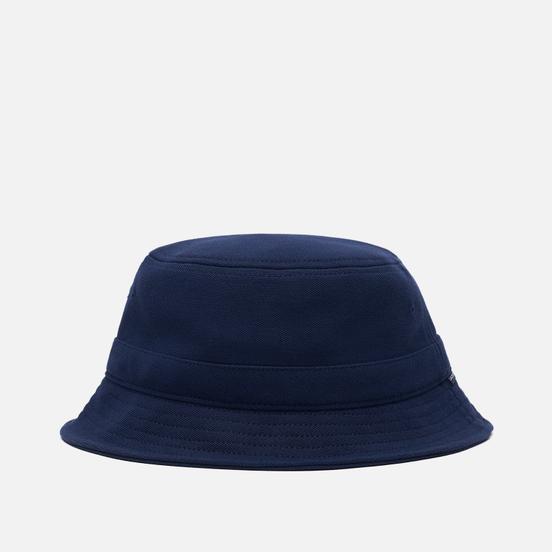 Панама Lacoste Cotton Bucket Navy Blue