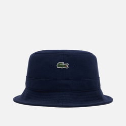 Панама Lacoste Cotton Bucket Navy Blue