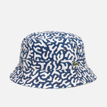 Панама Lacoste Live Printed Blue/Black фото- 0