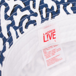 Панама Lacoste Live Printed Blue/Black фото- 2