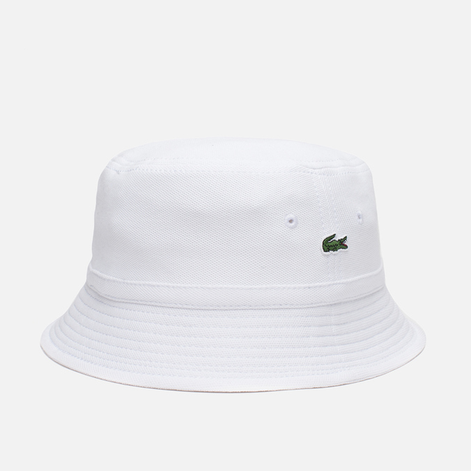 Панама Lacoste Pique Hat White