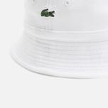 Панама Lacoste Pique Hat White фото- 1