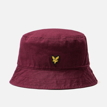 Панама Lyle & Scott Cotton Twill Bucket Claret Jug фото- 0