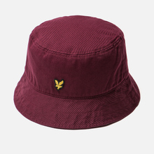 Панама Lyle & Scott Cotton Twill Bucket Claret Jug фото- 1