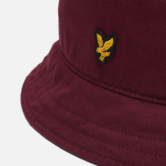 Панама Lyle & Scott Cotton Twill Bucket Merlot