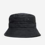 Панама Maharishi Bucket Coated Organic Cotton Black фото- 0