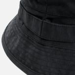 Панама Maharishi Bucket Coated Organic Cotton Black фото- 1